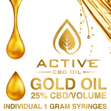 Active CBD oil - Gold 25%